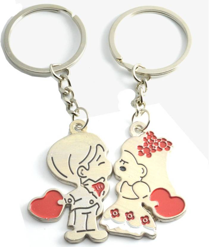 dde8c03c6a Faynci Love Forever Couple Gift with cute Lover Kissing couple Key Chain  Key Chain Price in India - Buy Faynci Love Forever Couple Gift with cute  Lover ...