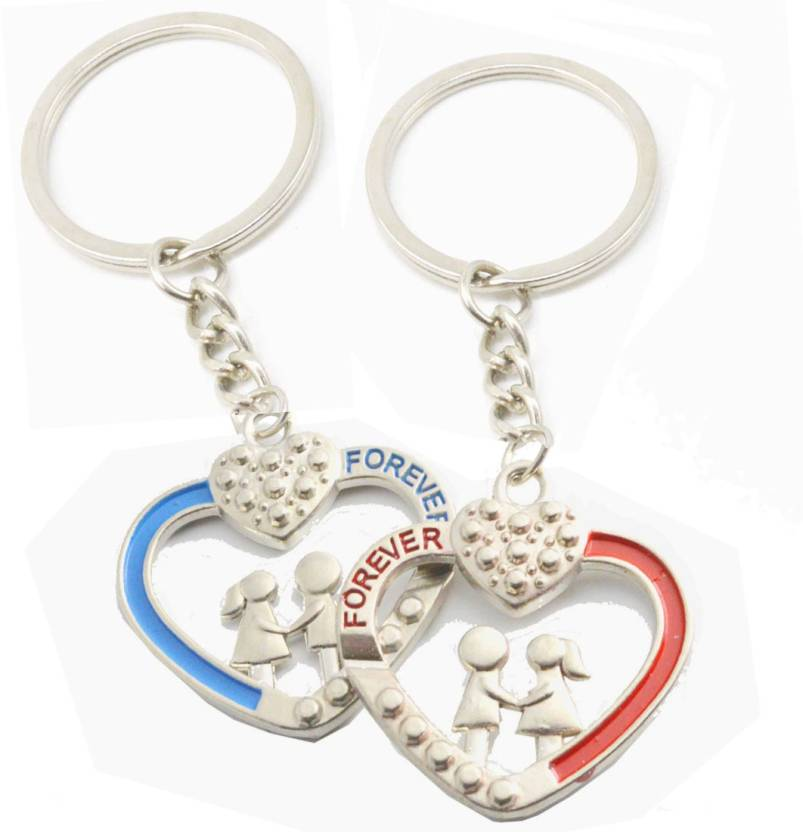 6f5bee3e95 Faynci Love Forever Couple Gift with cute Love Bite Pair (Boyfriend &  Girlfriend) couple Key Chain Key Chain Price in India - Buy Faynci Love  Forever Couple ...