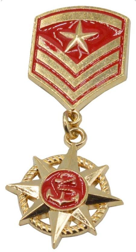 Navy War Ship Fashion Men/'s Tie Bar Clip Clasp Accessory Suit Uniform Military