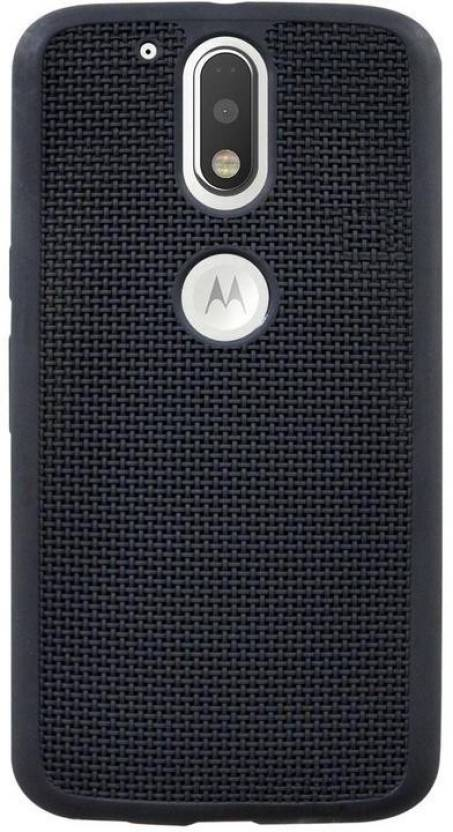 size 40 c8930 5b345 COVERBLACK Back Cover for Motorola Moto G4 Plus - XT1643 ...