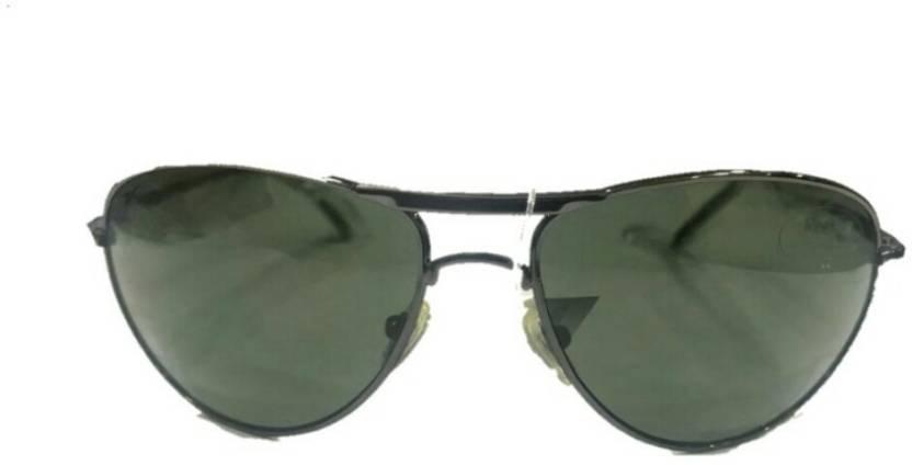 c6ca7b4f8e Buy REEBOK Aviator Sunglasses Black For Men   Women Online   Best ...