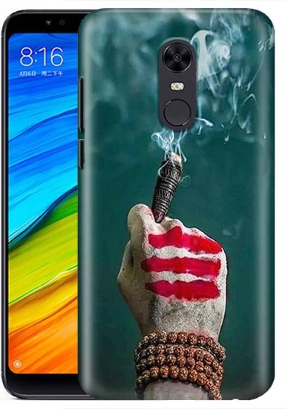 the latest 6b409 b67fa Printex Back Cover for Mi Redmi Note 5