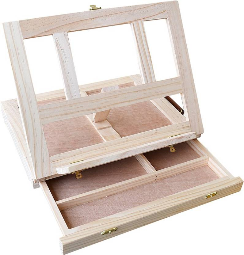 MONT MARTE Wooden Multiple Purpose Easel Price in India