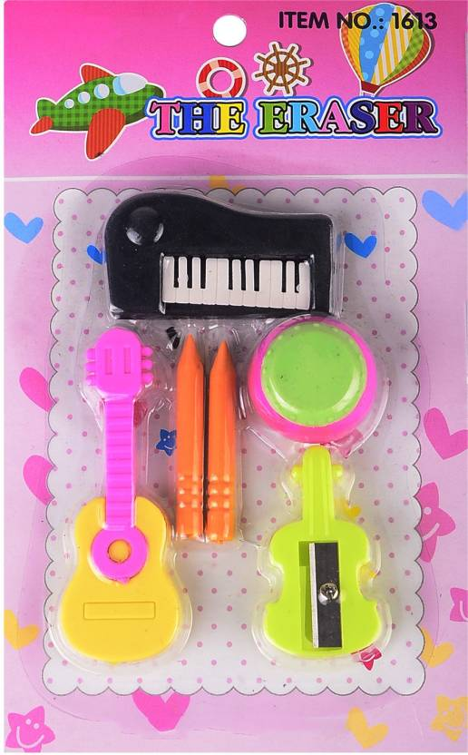Majik Musical Eraser Pack