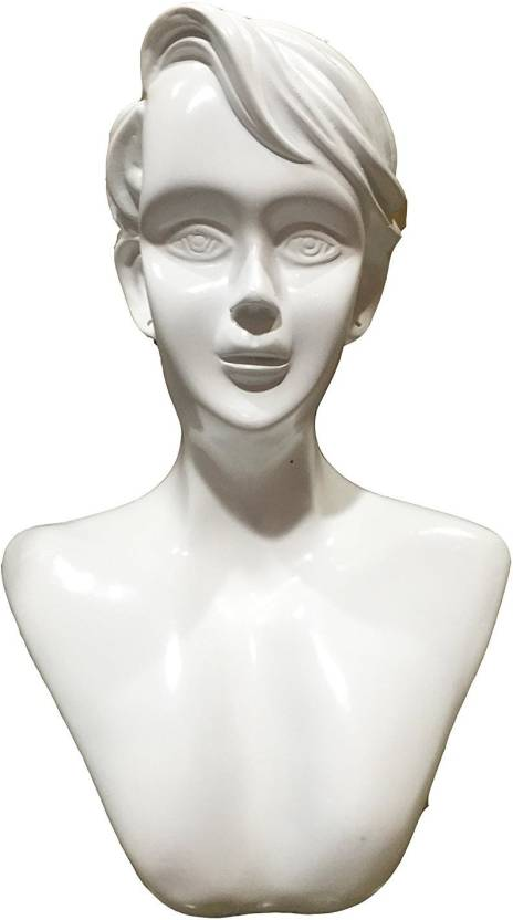 Oscar New Mannequin Head Bust Stand Model Jewelry Display Necklace Earring Holder White W94 Jewellery Organizer Price In India