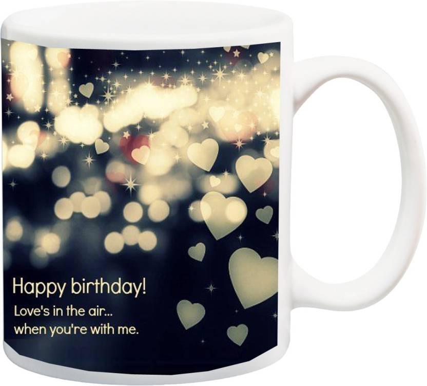 MEYOU Gift For Girlfriend Boyfriend Husband Wife Couple Lover Fiancee Fiance On Birthday IZ17 CK MU 200 Printed Ceramic Mug