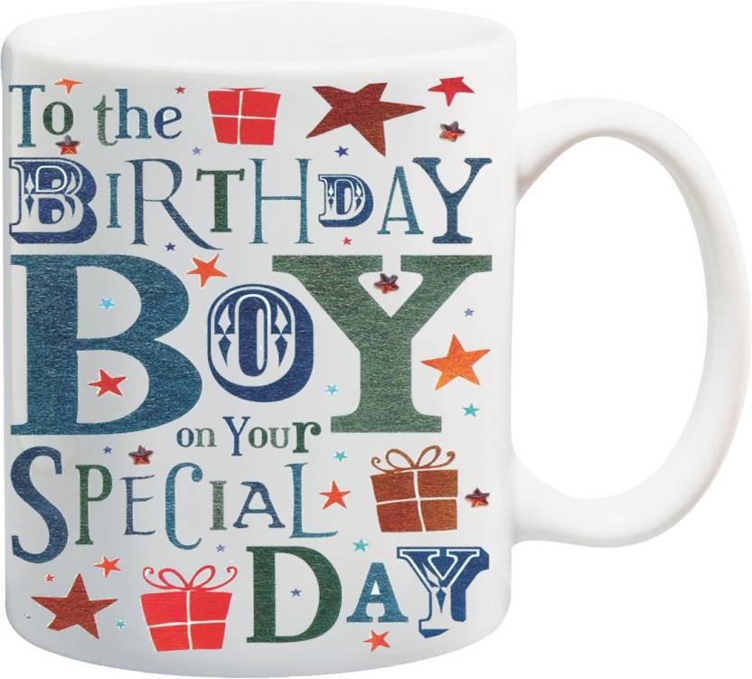 MEYOU Gifts For Brother Nephew Bro Cousin On Happy Birthday Ceramic Mug 325 Ml