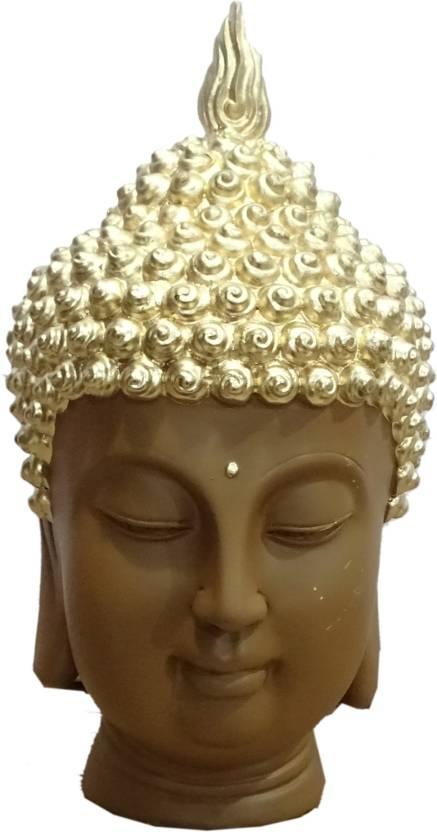 Boon BOON FACE BUDDHA Statue1 Decorative Showpiece - 26 cm Price in ...