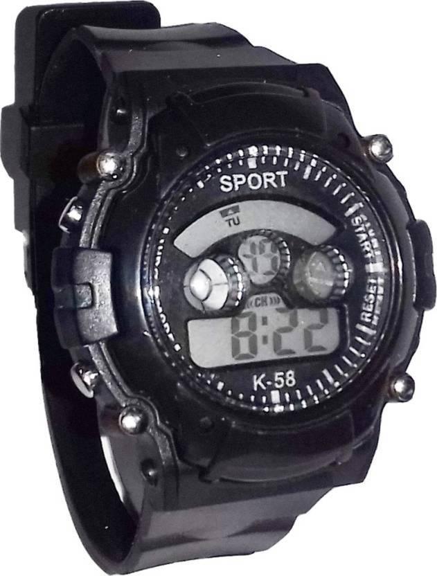 Happy Deals Black 7 Clor Light Birthday Gift Watch For Boys Buy