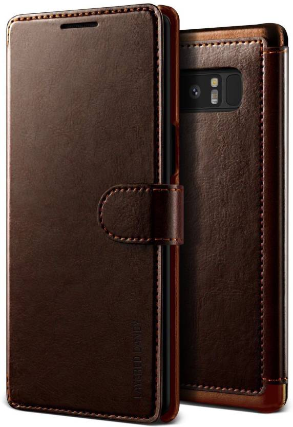 lowest price 0599d da393 VRS Design Wallet Case Cover for Samsung Galaxy Note 8 Layered Dandy ...