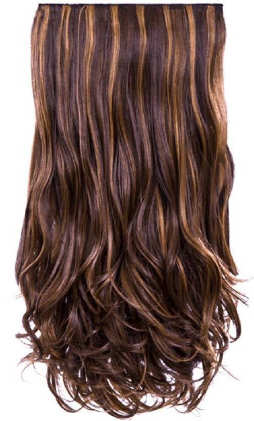 Pema Golden Highlight Clip In Hair Extension Price In India Buy
