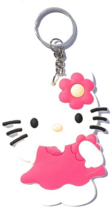 633c42616 PRiQ Hello Kitty Rubber Keychain Key Chain Price in India - Buy PRiQ Hello  Kitty Rubber Keychain Key Chain online at Flipkart.com