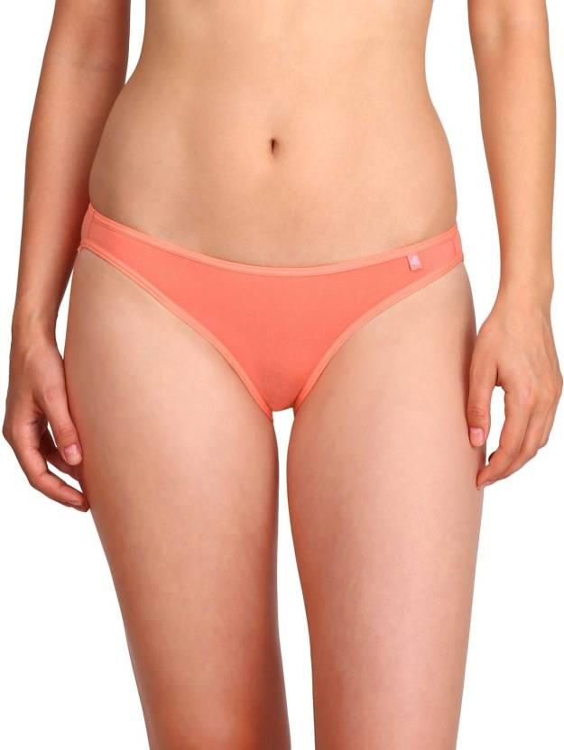 9eb9bc9bb7b18 Jockey Women s Bikini Pink Panty - Buy Peach Blossom Jockey Women s ...