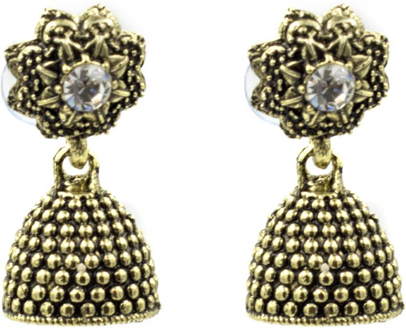 669211dc417 Flipkart.com - Buy Three Shades Three Shades Stylish Fancy Party and Daily  Wear Jewellery Earring for Girls   Women 920 Alloy Drop Earring Online at  Best ...