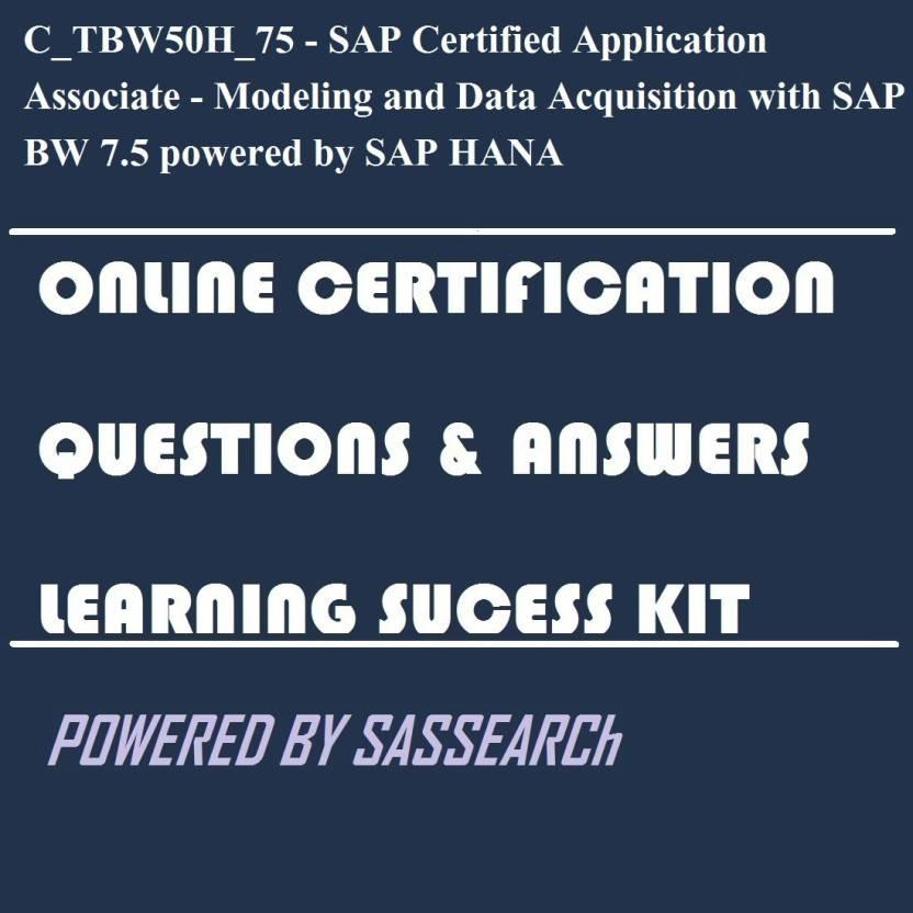 Sapsmart Ctbw50h75 Sap Certified Application Associate