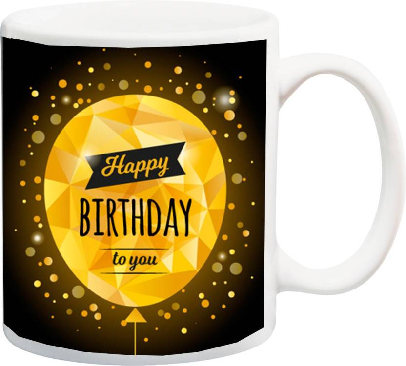 MEYOU Gift For Niece Nephew Children Kid Brother Sister Friend On Birthday IZ17 CK MU 351 Printed Ceramic Mug 325 Ml