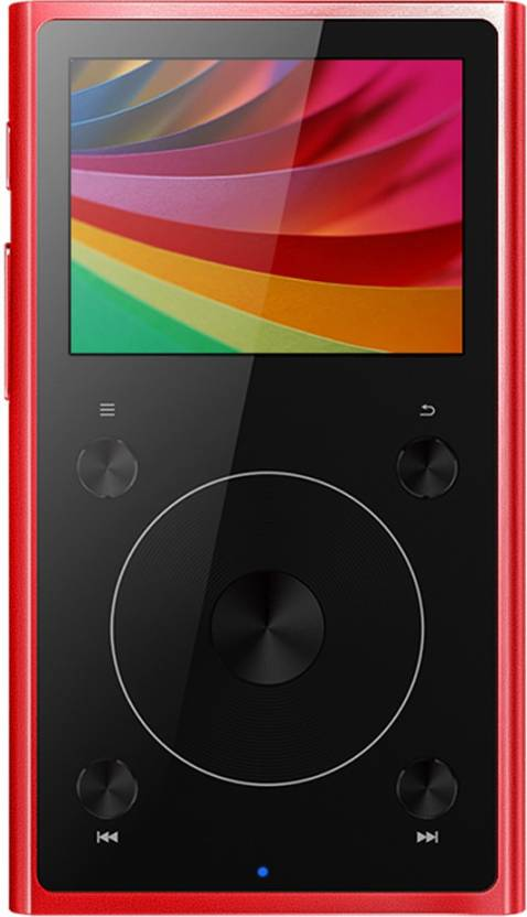 FiiO X1 II Lossless Bluetooth Hi-Res Lossless Red MP4 Player