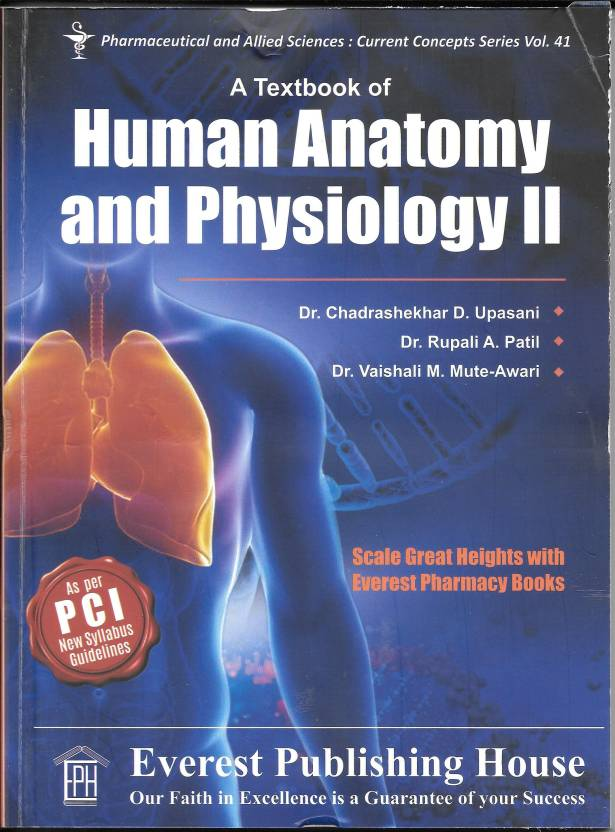 A Textbook of Human anatomy and Physiology II: Buy A