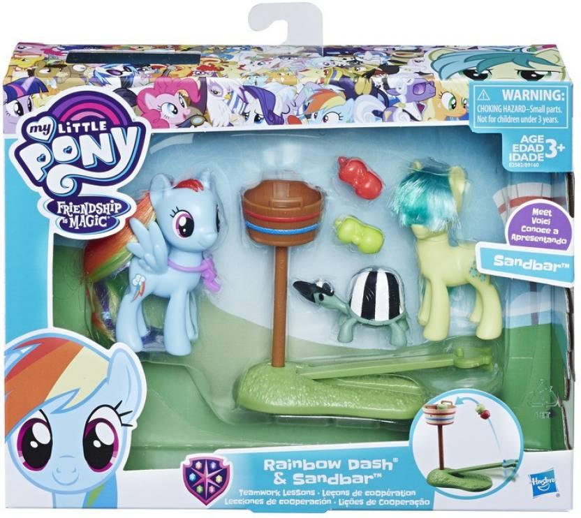 My Little Pony Rainbow Dash And Sandbar Teamwork Rainbow Dash And