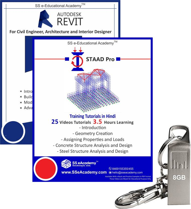 SS eAcademy Professional Revit and Staad Pro Training