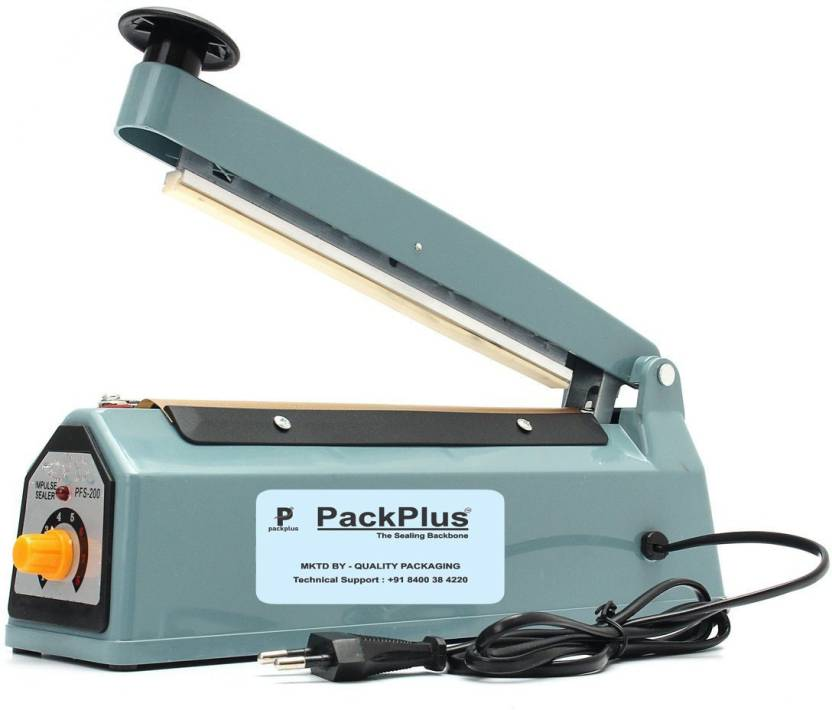 Pack Plus 8 Inch Hand Sealer With 6 MM Sealing Width Copper