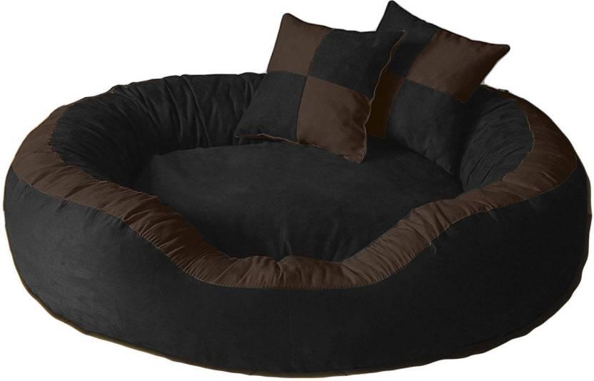 Peude Pet Mar037 M Bed Black Brown