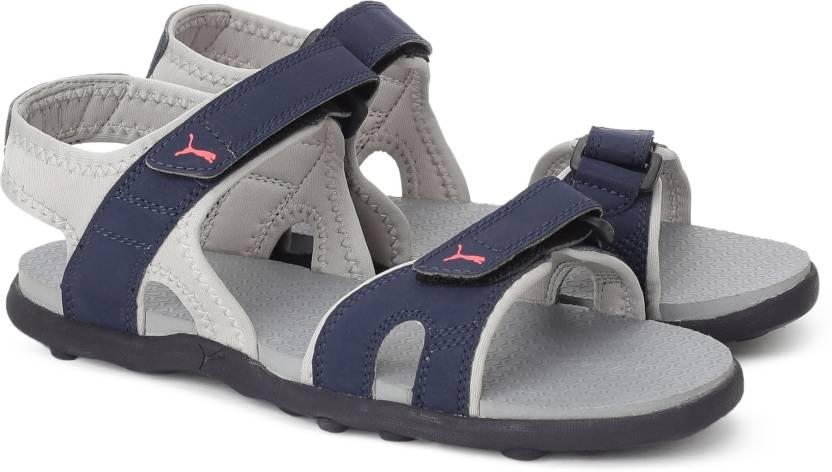 Puma Men Peacoat-Gray Violet-Mykonos Blue Sports Sandals - Buy Peacoat-Gray  Violet-Mykonos Blue Color Puma Men Peacoat-Gray Violet-Mykonos Blue Sports  ... de63e2b75