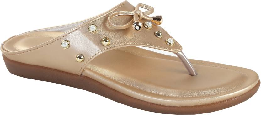 8fb62d1673ae Zappy Women Gold Flats - Buy Zappy Women Gold Flats Online at Best ...