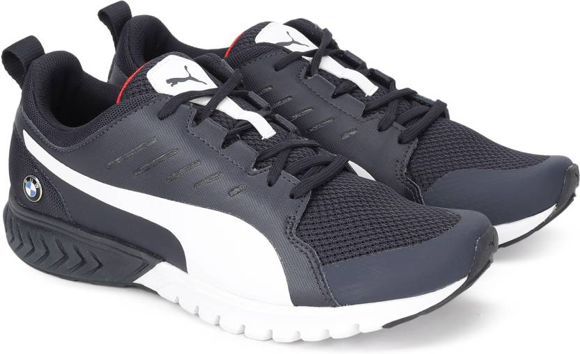 Puma BMW MS Pitlane Running Shoes For Men - Buy Team Blue-Puma White ... b2aaae202