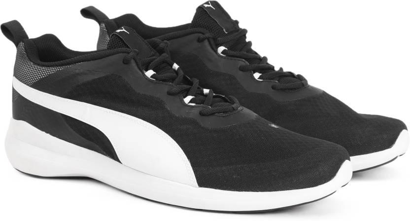 Puma Pacer Evo IDP Running Shoe For Men - Buy Black-White Color Puma ... af952f52d