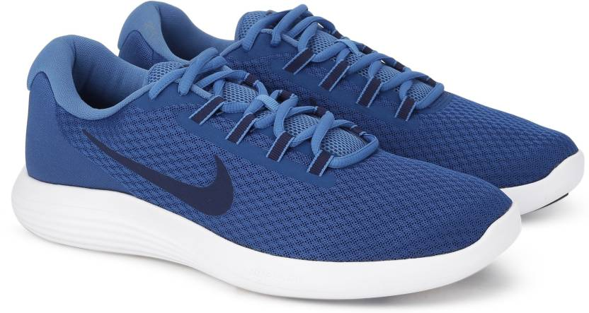 brand new 08a0e cf310 Nike LUNARCONVERGE Running Shoes For Men (Blue)