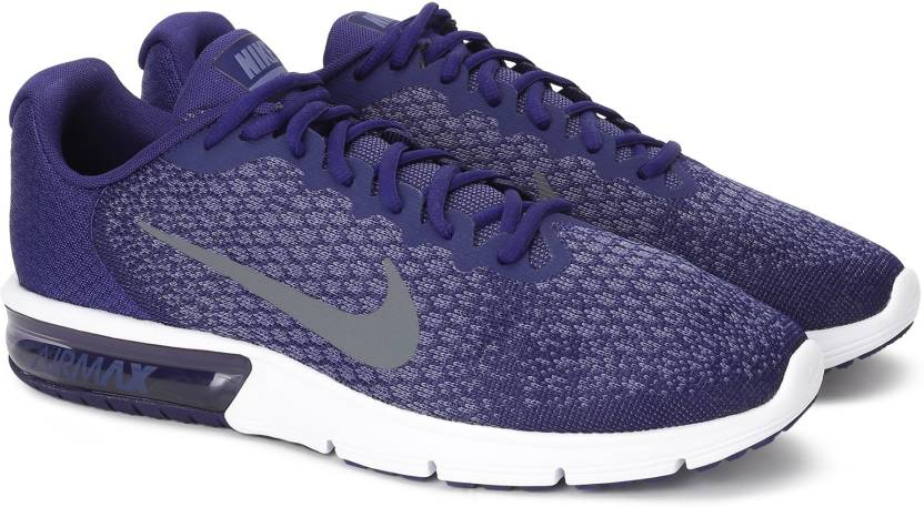 d12328cb55665 Nike AIR MAX SEQUENT 2 Running Shoes For Men - Buy BINARY BLUE DARK ...