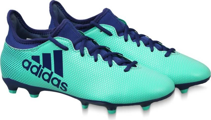 1f26b607df2e ADIDAS X 17.3 FG Football Shoes For Men - Buy AERGRN/UNIINK/HIREGR ...