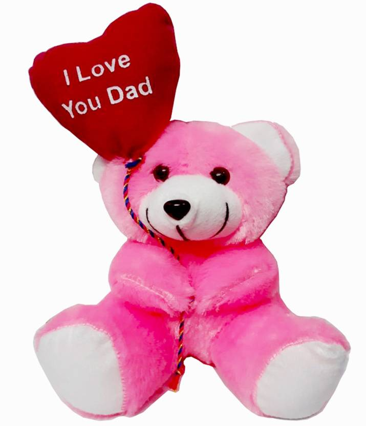 MEYOU Heart Belloon Teddy Gift For Father Birthday Gift