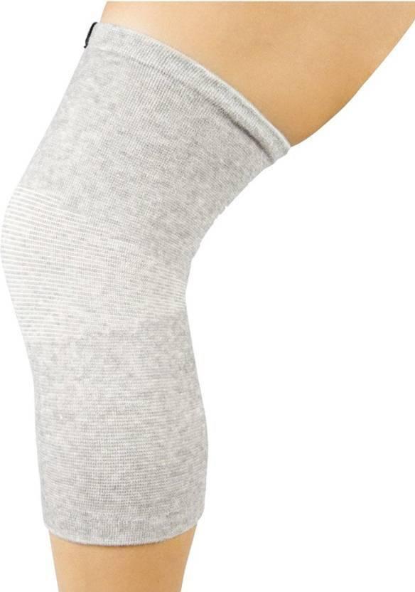 Gymwar Pure Cotton Knee Support Knee Cap Knee Sleeves Knee Guard