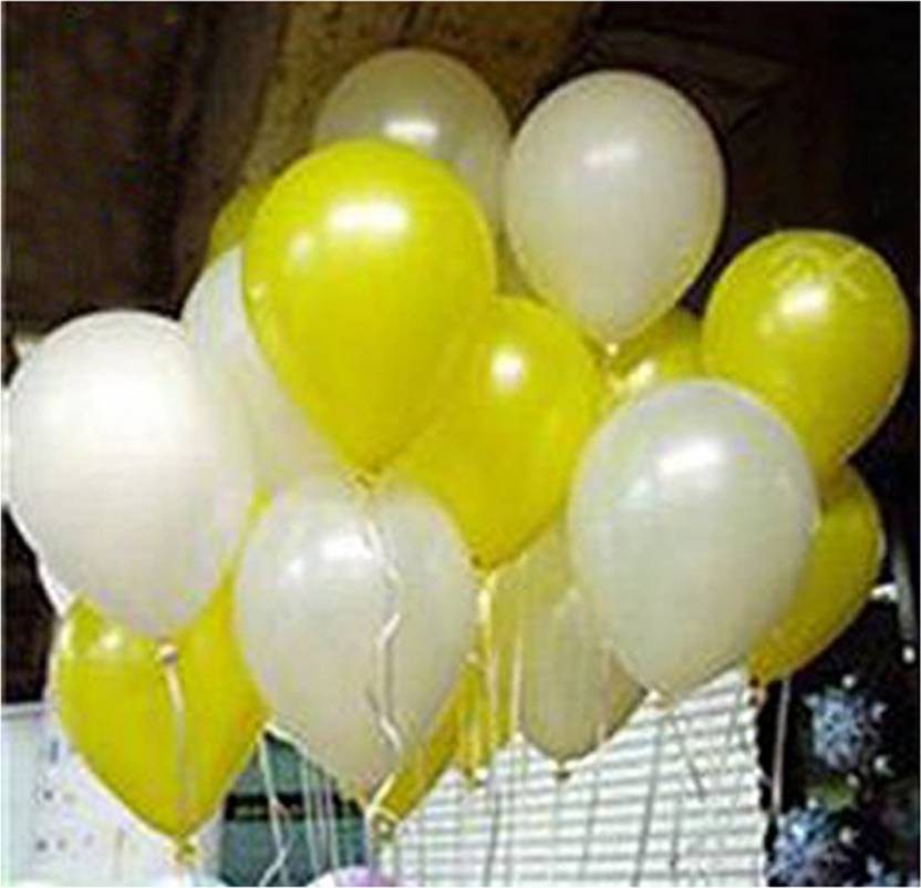 Flipkart Com Amfin Solid 10 Inch Pack Of 50 Metallic Balloons