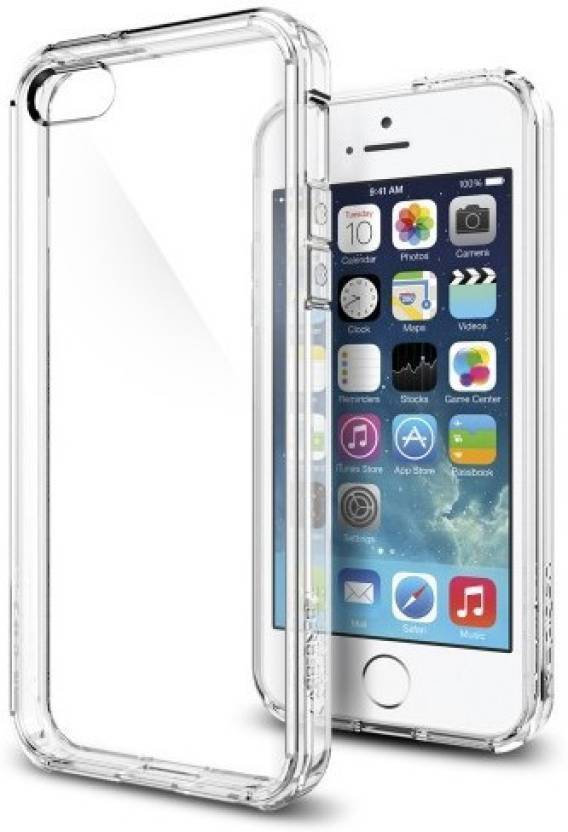 BIZBEEtech Back Cover for Apple iPhone SE/5S/5 Transparent
