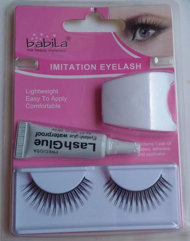 Babila False Waterproof Eyelashes Beautiful Reusable And Natural