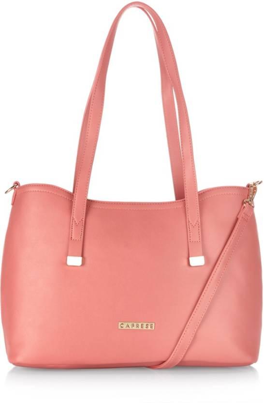 b23334845 Buy Caprese Tote Pink Online   Best Price in India