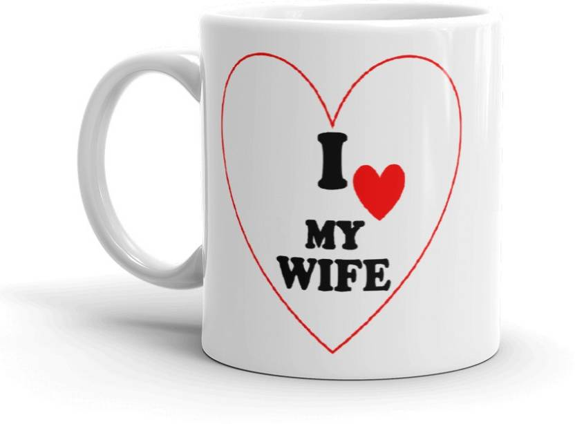 Grabdeal I Love My Wife Valentine Gift To Husband Wife Lover