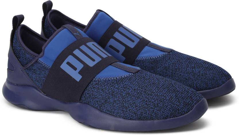 b6e6234acdd Puma Dare Tw Knit Walking Shoes For Men (Blue)