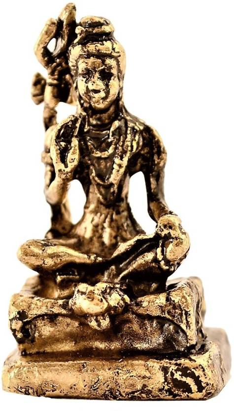 Purpledip Rare Miniature Statue Mahadev Siva, Destroyer Of Evils