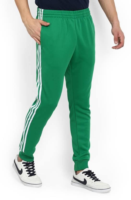 0fb537e0f ADIDAS ORIGINALS Solid Men's Green Track Pants - Buy Green ADIDAS ORIGINALS  Solid Men's Green Track Pants Online at Best Prices in India | Flipkart.com