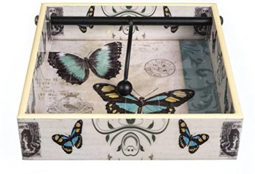 Kolorfish Designer Wooden Tissue Napkin Holder Stand For Dining Table Home Kitchen