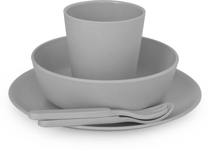 Buy Boboboo Plate Cup Spoon Fork In India Flipkartcom