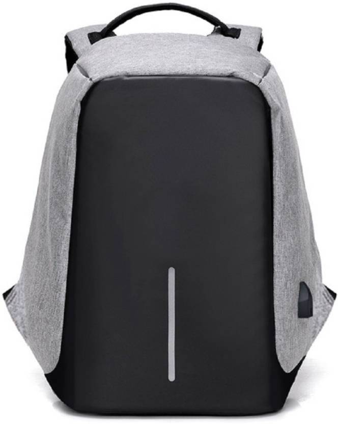 f6be832c554a ShopyBucket Anti-Theft Laptop Travel Backpack with USB Plug Charging ...