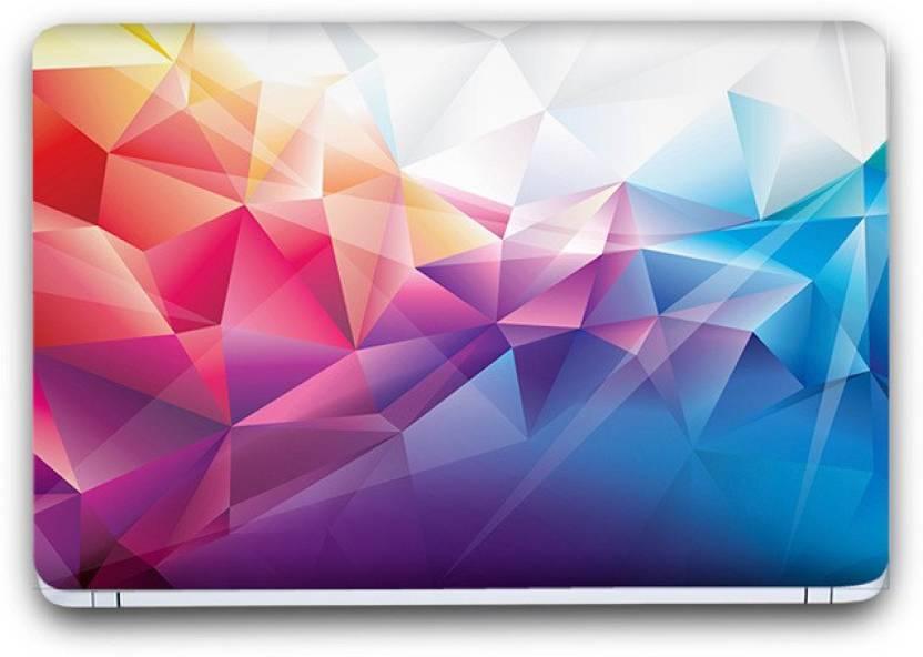 Flipkart SmartBuy Beautiful Abstract 9 Vinyl Laptop Skin (3M/Avery Vinyl, Matte Laminated
