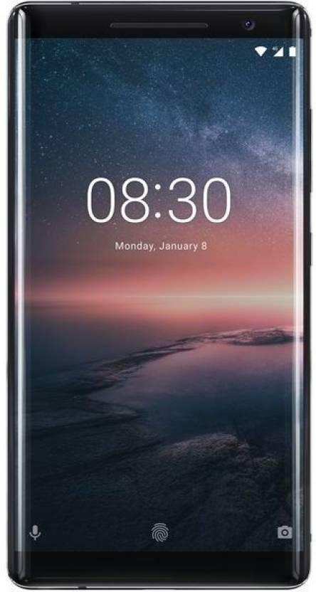 Nokia 8 Sirocco (Black, 128 GB)(6 GB RAM)