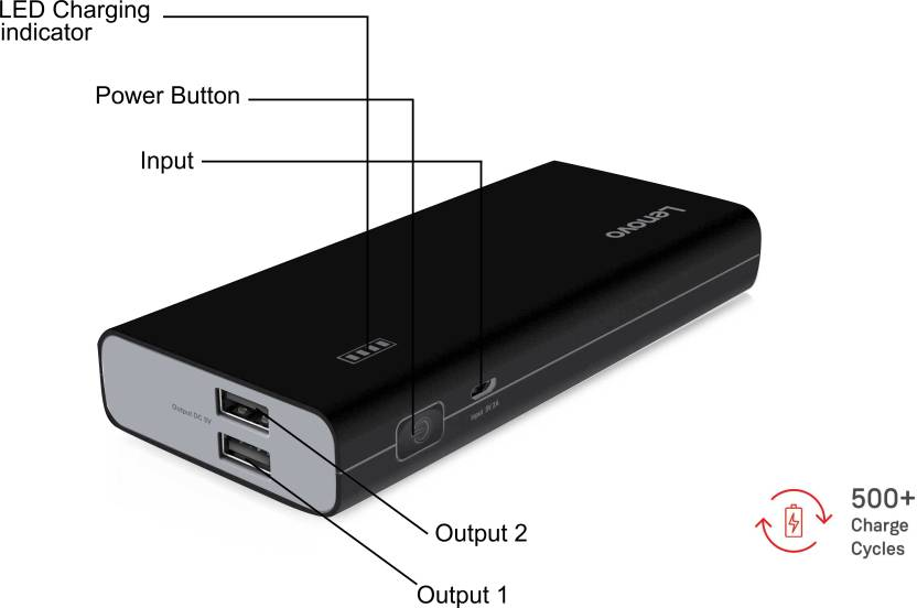Lenovo 10400 mAh Power Bank (PA)