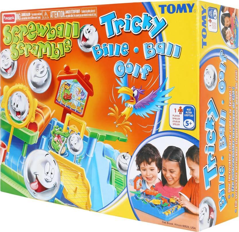 Funskool Screwball Scramble Board Game - Screwball Scramble Board
